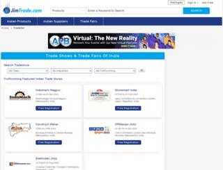 tradefair.jimtrade.com screenshot