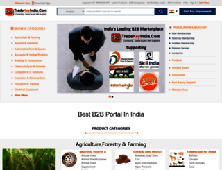 tradekeyindia.com screenshot