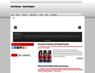 tradekidswears.blogspot.com screenshot