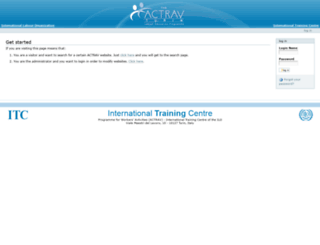 tradelaw.itcilo.org screenshot