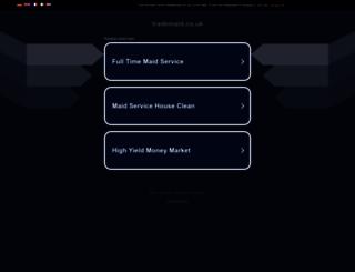 trademaid.co.uk screenshot