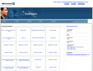 trademaksrl.ebusinessin.com screenshot