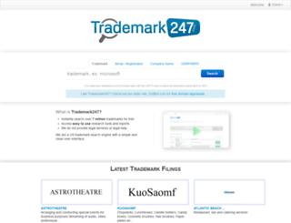 trademark247.com screenshot
