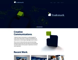 trademarkcreative.ca screenshot