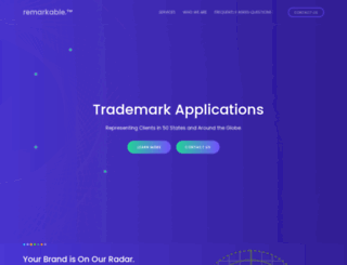 trademarks.breanlaw.com screenshot