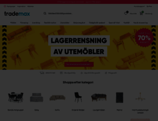 trademax.se screenshot