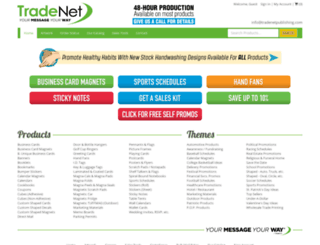 tradenetpublishing.com screenshot
