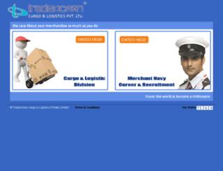 tradeoceancargo.com screenshot