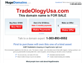 tradeologyusa.com screenshot