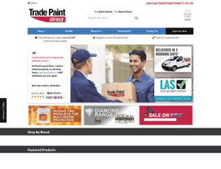 tradepaintdirect.co.uk screenshot