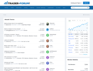 trader-forum.ch screenshot