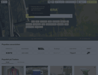 tradera.com screenshot