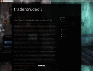 tradercrudeoil.blogspot.co.uk screenshot
