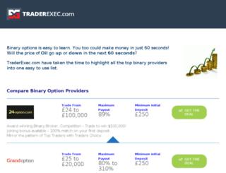 traderexec.com screenshot