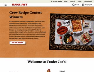 traderjoes.com screenshot