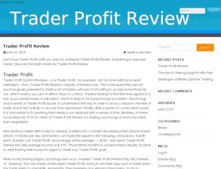 traderprofitreview.com screenshot