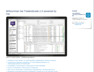 tradersguide.de screenshot