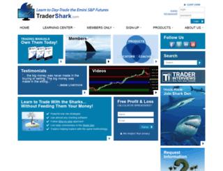 tradershark.com screenshot