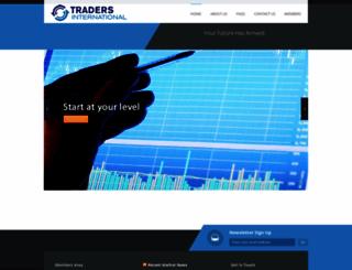 tradersinternational.com screenshot