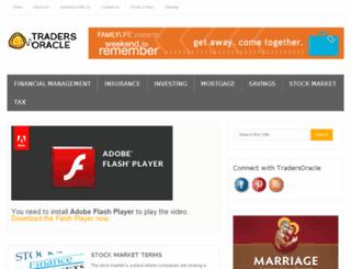 tradersoracle.com screenshot