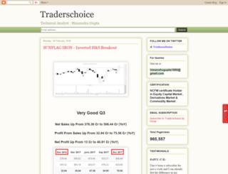 tradersschoice.blogspot.in screenshot