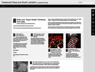 tradescant.blogspot.co.uk screenshot