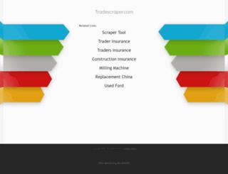 tradescraper.com screenshot