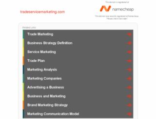 tradeservicemarketing.com screenshot