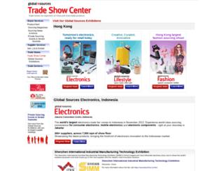 tradeshow.globalsources.com screenshot