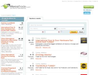 tradeshows.mercatrade.com screenshot