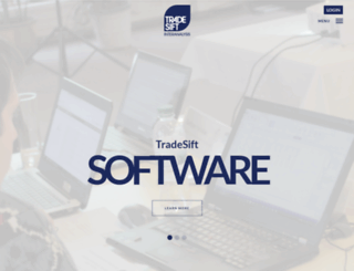 tradesift.com screenshot