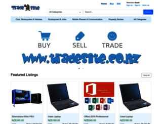 tradesite.co.nz screenshot
