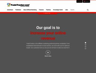 tradetracker.net screenshot