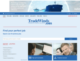 tradewindsjobs.com screenshot