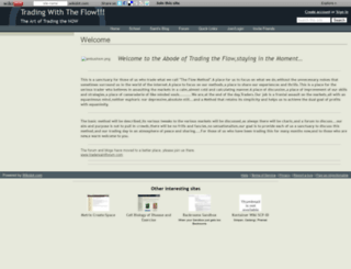 tradewithsaint.wikidot.com screenshot