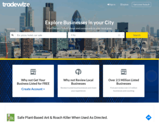 tradewize.co.uk screenshot