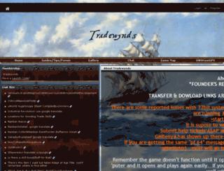 tradewynds.guildlaunch.com screenshot