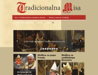 tradicionalnamisa.com screenshot