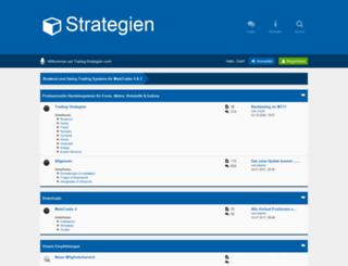 trading-strategien.com screenshot