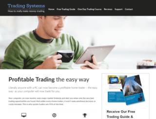 trading-systems.co.uk screenshot