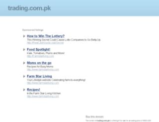 trading.com.pk screenshot