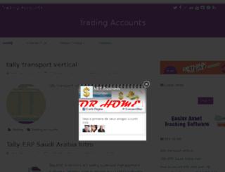 tradingaccounts.info screenshot
