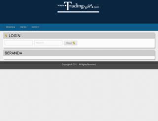 tradingbaju.com screenshot