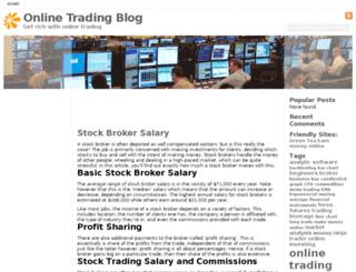 tradingblog.info screenshot