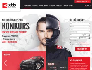tradingcup.xtb.pl screenshot