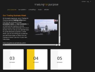 tradingforpurpose.it screenshot