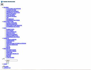 tradingtechnologies.com screenshot