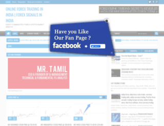 tradingwithtamil.com screenshot