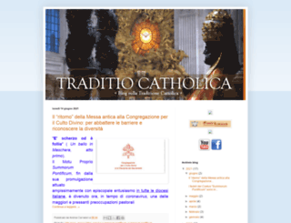 traditiocatholica.blogspot.co.at screenshot