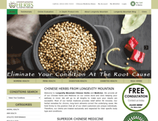 traditional-chinese-herbs.com screenshot